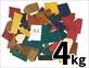 【限定15パック】秋革 染色ヌメ端切れパック 超特盛 4kg