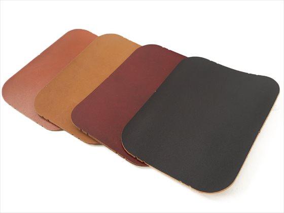 染色ヌメ革 コースター